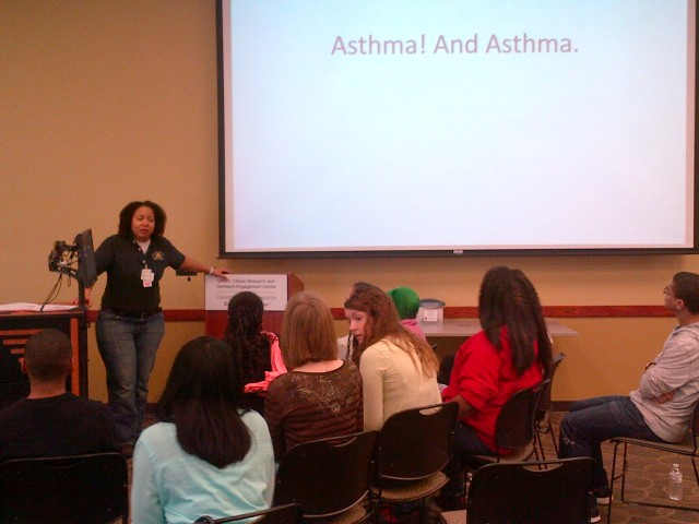 Asthma! And Asthma.