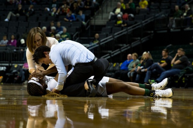 Injury on the court