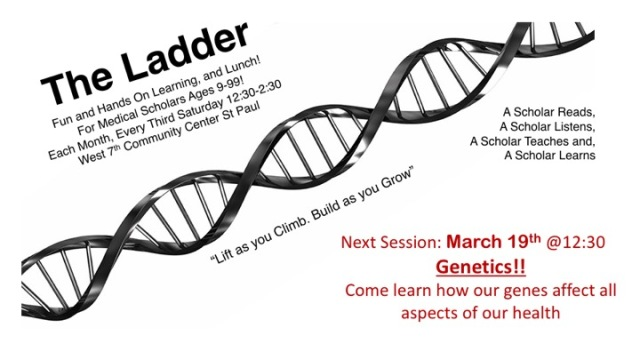 The Ladder Monthly Flyer - Genetics